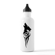 tribal black Water Bottle