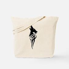 tribal black Tote Bag