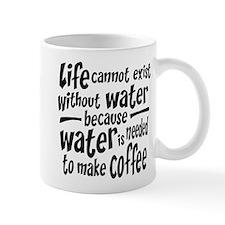 Life Depends on Coffee Mug