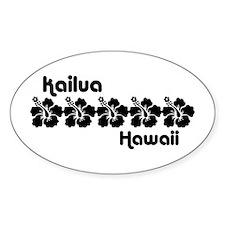 Kailua Hawaii Decal