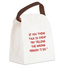 MARRY.png Canvas Lunch Bag