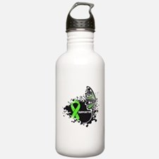 Supporter Lymphoma Buttefly Water Bottle