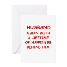 HUSBAND.png Greeting Card
