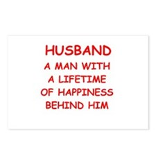 HUSBAND.png Postcards (Package of 8)