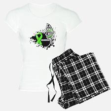 Lymphoma Butterfly pajamas