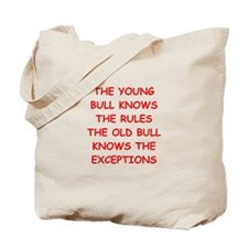 BULLS.png Tote Bag