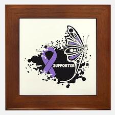 Supporter Hodgkin Disease Framed Tile