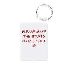 SHUT.png Keychains