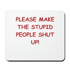 SHUT.png Mousepad