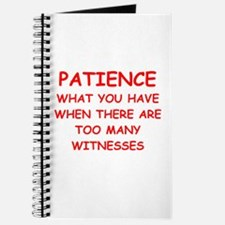 PATIENCE.png Journal