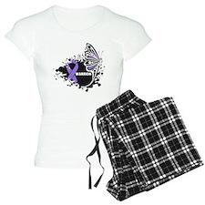 Warrior Hodgkin Disease pajamas