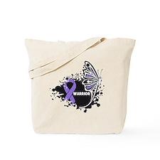 Warrior Hodgkin Disease Tote Bag