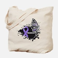 Warrior Hodgkin Disease Tote Bag