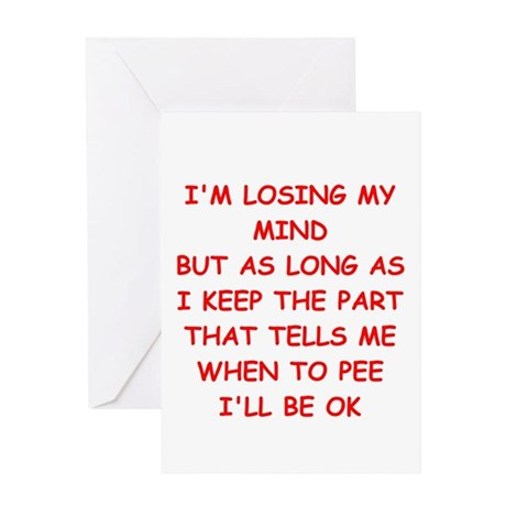 MIND.png Greeting Card