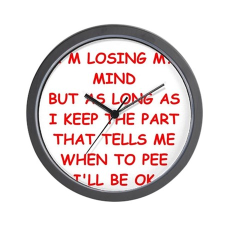 MIND.png Wall Clock