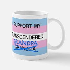 I support my Transgendered Grandpa Mug