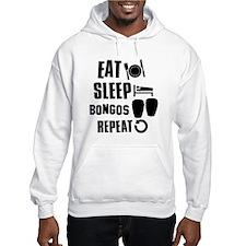 Eat Sleep Bongos Jumper Hoody