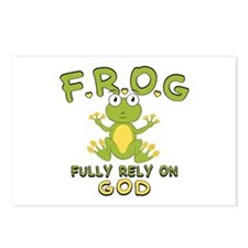 Fully Rely On God Postcards (Package of 8)