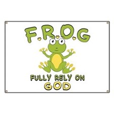 Fully Rely On God Banner