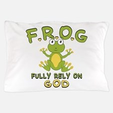 Fully Rely On God Pillow Case