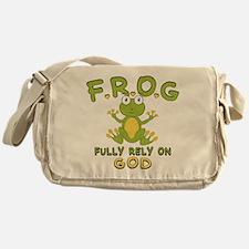 Fully Rely On God Messenger Bag