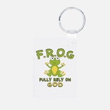 Fully Rely On God Keychains