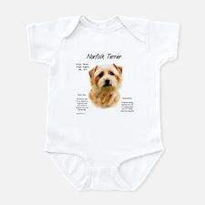 Norfolk Terrier Baby Light Bodysuit