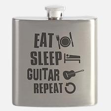 Eat Sleep Guitar Flask