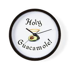 Holy Guacamole! Wall Clock