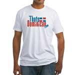ThatsDominican Logo (Original) Fitted T-Shirt