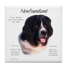 Landseer Newfoundland Tile Coaster