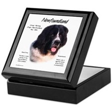 Landseer Newfoundland Keepsake Box