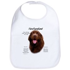 Brown Newfoundland Bib