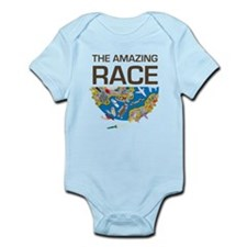 The Amazing Race Transportation Infant Bodysuit