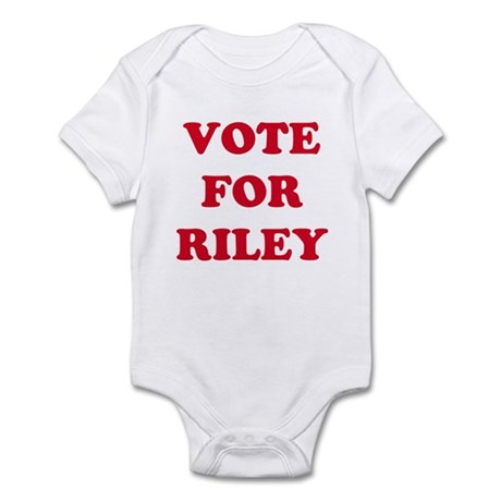 VOTE FOR RILEY Infant Creeper