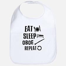 Eat Sleep Oboe Bib