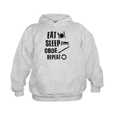 Eat Sleep Oboe Kids Hoodie