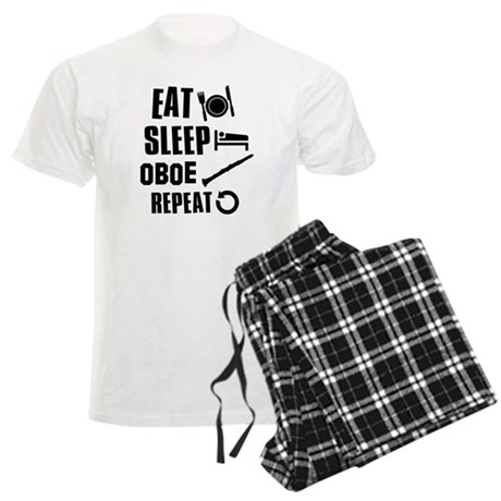 Eat Sleep Oboe Men's Light Pajamas