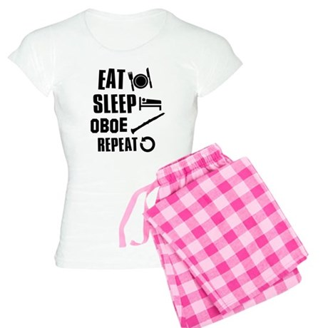 Eat Sleep Oboe Women's Light Pajamas