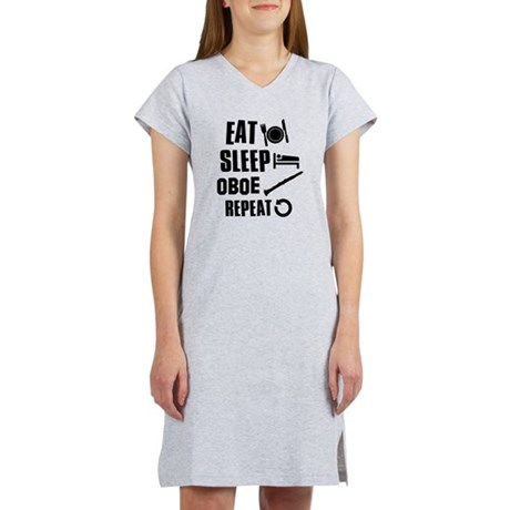 Eat Sleep Oboe Women's Nightshirt