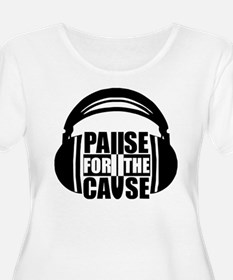 Band Logo With Headphones T-Shirt
