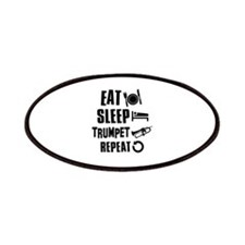 Eat Sleep Trumpet Patches