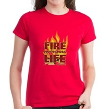Fire Represents Life Tee