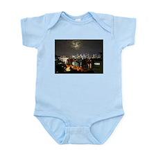 Brisbane in the Lacey Moonlight Infant Bodysuit