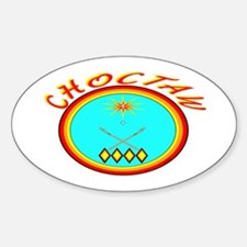 CHOCTAW Sticker (Oval)