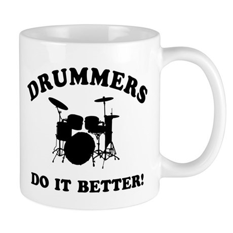 Cool Drummer Designs Mug By Gotteez