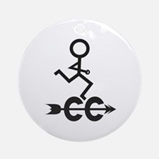 Cross Country CC Ornament (Round)