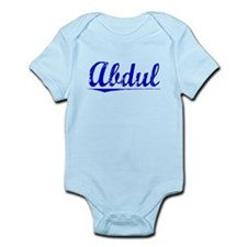 Abdul, Blue, Aged Infant Bodysuit