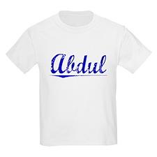 Abdul, Blue, Aged T-Shirt