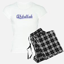 Abdullah, Blue, Aged Pajamas